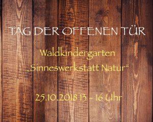 Tag der offenen Tür @ Sinneswerkstatt Natur